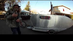 Bike Camper Trailer Comfy Camper Bike Luma Dilla Youtube