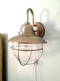 plugin wall sconce brass plug in wall sconce coastal antique ageblag plug in wall sconce target