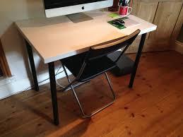 used ikea linnmon adils desk de chair in tn2 wells for 10 00 shpock