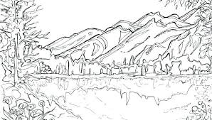 Free Printable Scenic Coloring Pages For Adults Scenery Nature