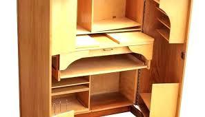 hideaway office furniture. Hideaway Computer Desk Hide Away Office Furniture Desks At Home E  Workstation Oak .