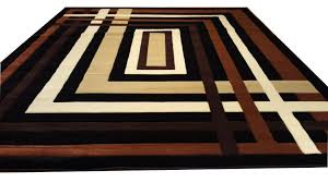 area rugs hand carved black brown area rug