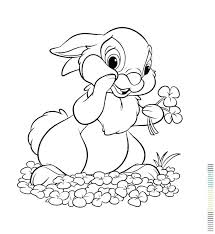 Cartoon Rabbit Colouring Pages Coloring Pages For Bunny Bunnies