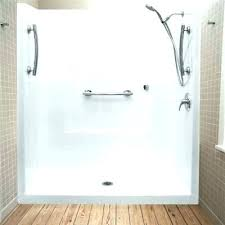 sterling shower pan shower pan no threshold shower base low one piece showers double sterling shower sterling shower