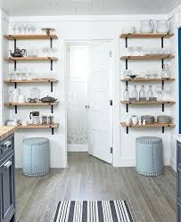 small kitchen shelves island and open with rustic charm eclectic design ideas wall shelf unit eclect
