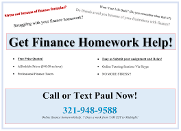 finance homework help finance homework help we make finance finance homework help
