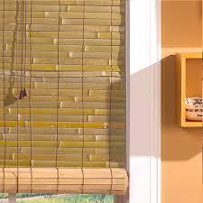 Radiance Laguna Woven Indoor/Outdoor Wood Bamboo Roll-Up Shade | Hayneedle