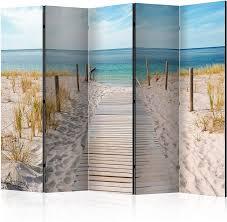 Murando Raumteiler Raumteiler Raumteiler Foto Paravent Strand Am