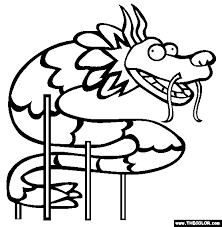 Small Picture Chinese Dragon Coloring Page Online Coloring