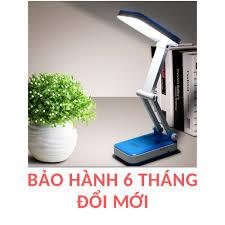 Đèn bàn học sạc tích điện chống cận ❤Bảo hành 6 tháng❤ mã KM6653/6668 đèn  led đọc sách chống cận cho trẻ em học - Đèn bàn Hãng No brand