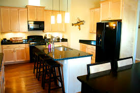kitchens with dark cabinets and light countertops. Kitchen Dark Cabinets Light Counter With Flooring Kitchens And Countertops