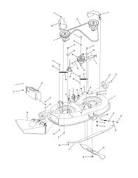 similiar mtd 38 mower deck diagram keywords 38 deck diagram and parts list for mtd riding mower tractor parts