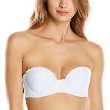 Lily Of France Bralette Size Chart Details About Lily Of France Womens Value In Style Strapless Push Up Convertible Bra 2121407