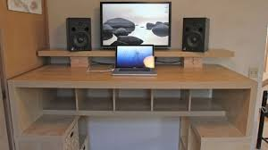Diy Computer Desk Designs Download Computer Desk Ideas Buybrinkhomes Long  Black Computer Desk