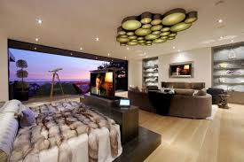 7 ideas for hiding a tv in a bedroom this luxury bedroom has a