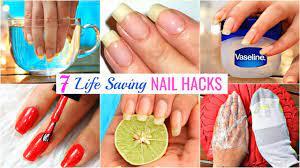 7 life hacks to grow nails fast
