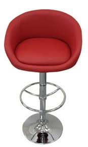 red leather bar stools. Pastonu Kitchen Bar Stool Red Faux Leather Cup Seat Very Comfortable Stools N