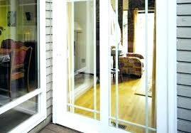 sliding glass door with screen on inside replacing french doors showroom awesome replace trac