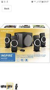 Harbiye içinde, ikinci el satılık Creative 4+1 ses sistemi -