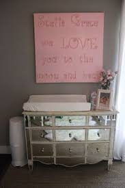baby changing table I love the picture above and the mirrored table. . . so