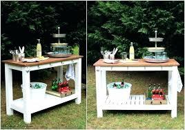 diy patio bar. Diy Outdoor Bar. Patio Bar Ideas Cool For Summer Portable Latest Furniture Stools