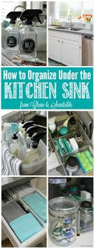 Under Kitchen Sink Storage 17 Best Ideas About Under Kitchen Sink Storage On Pinterest