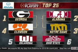 College Football Playoff rankings 2017 ...