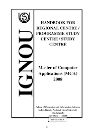 mca handbook for sc rc by ignou mca issuu