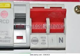 fusebox house stock photos fusebox house stock images alamy circuit breaker switches in a fusebox stock image