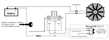 adjustable temperature control kit Dodge Flex-a-lite Fan Wiring Diagram Flexalite Fan Wiring Diagram #35