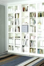 bookcase billy with glass doors from a single to wall bookcases ikea hemnes