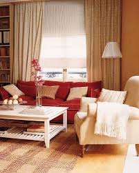 interior sofas living room red leather sofa decorating ideas red