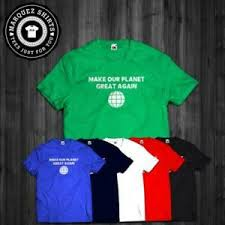 Details About New T Shirt Make Our Planet Great Again Anti Trump Paris Tee Usa Size S To 3xl