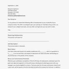 Sample Of Offer Letter For Employment This Sample Letter Is Suitable To Use For Most Job Offers