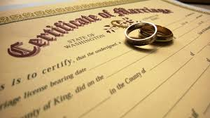 Marriage Licensing King County