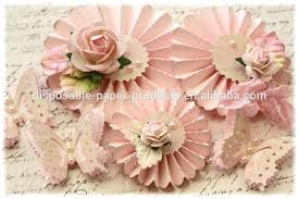Paper Rosette Flower 2015 New Diy Party Decor Ideas Paper Fan Backdrop Shabby Chic
