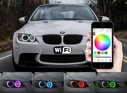 E90 Bmw Wi Fi Rgbw Smartphone Controlled Angel Eye Led Bulbs