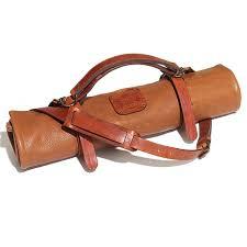 witloft leather knife roll 9 pocket only cognac
