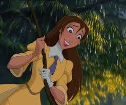 Walt Disney World: 6 Disney Jane Porter From Tarzan Cartoon Wallpaper