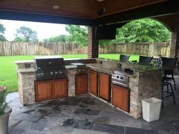 Patio Kitchen Backyard Retreatspatio Builder Houston Outdoor Structures