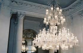 baccarat crystal chandelier france
