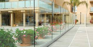 frameless glass windscreen systems installation image gallery of c r laurence taper loc reg dry glaze glass railing systems