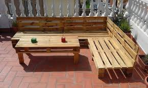 pallet patio furniture pinterest. brilliant furniture wonderful outdoor l shaped bench build pallet furniture set 99  pallets with patio pinterest