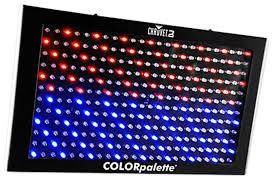Led Panel Stage Lighting Chauvet Dj Colorpalette Led Panel Stage Wash Light Dmx