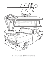 K N Printable Coloring Pages For Kids