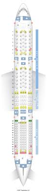 Jal Boeing 777 Seating Chart Seat Map Boeing 787 9 789 Layout 2 Japan Airlines Jal