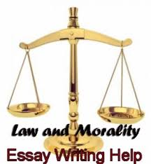 essay paper on law and morality