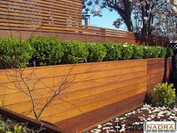 Ipe Planter & IPE Fence - City Decks New York