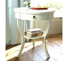 white side table side tables for bedroom round white bedside tables pedestal table pottery