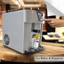 ice maker dispenser top rated countertop regarding with water line decor 1